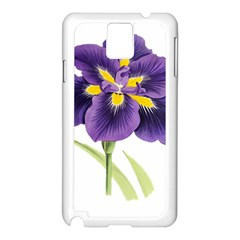Lily Flower Plant Blossom Bloom Samsung Galaxy Note 3 N9005 Case (white) by Nexatart