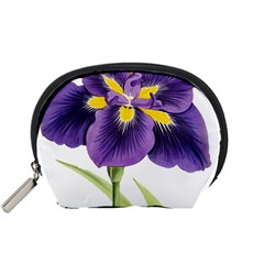 Lily Flower Plant Blossom Bloom Accessory Pouches (small)  by Nexatart