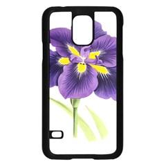 Lily Flower Plant Blossom Bloom Samsung Galaxy S5 Case (black)