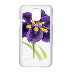 Lily Flower Plant Blossom Bloom Samsung Galaxy S5 Case (white) by Nexatart