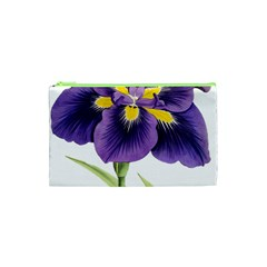 Lily Flower Plant Blossom Bloom Cosmetic Bag (xs)