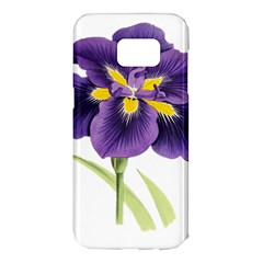 Lily Flower Plant Blossom Bloom Samsung Galaxy S7 Edge Hardshell Case