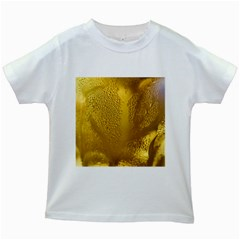 Beer Beverage Glass Yellow Cup Kids White T Shirts