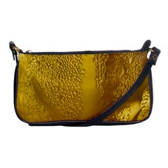 Beer Beverage Glass Yellow Cup Shoulder Clutch Bags by Nexatart