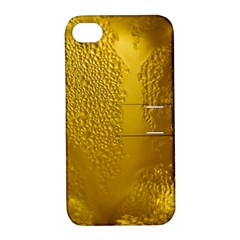 Beer Beverage Glass Yellow Cup Apple Iphone 4/4s Hardshell Case With Stand