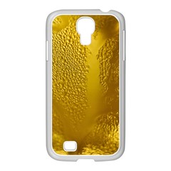 Beer Beverage Glass Yellow Cup Samsung Galaxy S4 I9500/ I9505 Case (white)