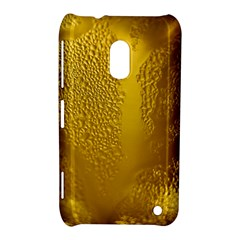 Beer Beverage Glass Yellow Cup Nokia Lumia 620 by Nexatart