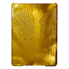 Beer Beverage Glass Yellow Cup Ipad Air Hardshell Cases by Nexatart