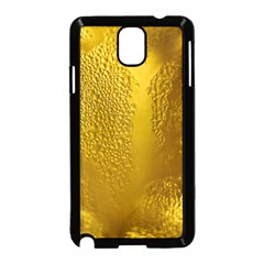Beer Beverage Glass Yellow Cup Samsung Galaxy Note 3 Neo Hardshell Case (black)