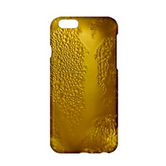 Beer Beverage Glass Yellow Cup Apple Iphone 6/6s Hardshell Case by Nexatart