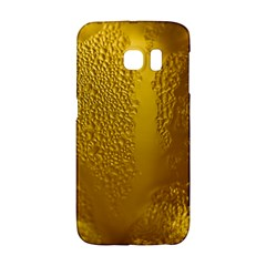 Beer Beverage Glass Yellow Cup Galaxy S6 Edge by Nexatart