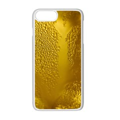 Beer Beverage Glass Yellow Cup Apple Iphone 7 Plus White Seamless Case