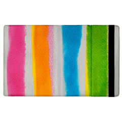 Watercolors stripes       Kindle Fire (1st Gen) Flip Case by LalyLauraFLM