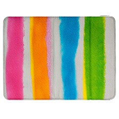 Watercolors stripes       HTC One M7 Hardshell Case by LalyLauraFLM
