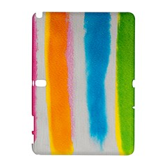 Watercolors Stripes       Htc Desire 601 Hardshell Case by LalyLauraFLM