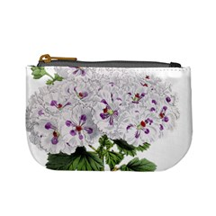 Flower Plant Blossom Bloom Vintage Mini Coin Purses by Nexatart