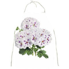 Flower Plant Blossom Bloom Vintage Full Print Aprons