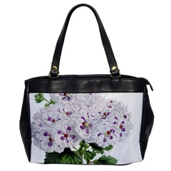Flower Plant Blossom Bloom Vintage Office Handbags by Nexatart