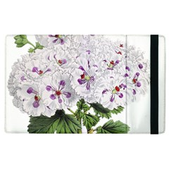 Flower Plant Blossom Bloom Vintage Apple Ipad 2 Flip Case by Nexatart