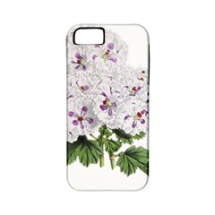Flower Plant Blossom Bloom Vintage Apple Iphone 5 Classic Hardshell Case (pc+silicone)