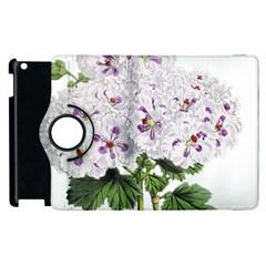 Flower Plant Blossom Bloom Vintage Apple Ipad 2 Flip 360 Case