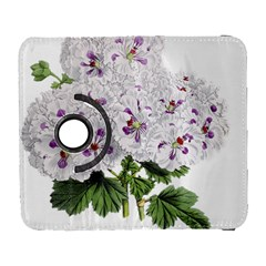 Flower Plant Blossom Bloom Vintage Galaxy S3 (flip/folio)
