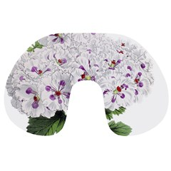 Flower Plant Blossom Bloom Vintage Travel Neck Pillows