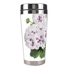 Flower Plant Blossom Bloom Vintage Stainless Steel Travel Tumblers by Nexatart