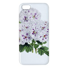 Flower Plant Blossom Bloom Vintage Iphone 5s/ Se Premium Hardshell Case