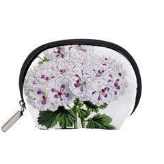 Flower Plant Blossom Bloom Vintage Accessory Pouches (small)