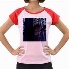Graphic Design Background Women s Cap Sleeve T Shirt