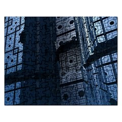 Graphic Design Background Rectangular Jigsaw Puzzl by Nexatart