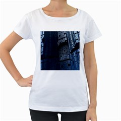 Graphic Design Background Women s Loose Fit T Shirt (white)