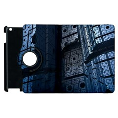 Graphic Design Background Apple Ipad 2 Flip 360 Case by Nexatart