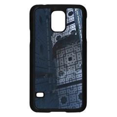 Graphic Design Background Samsung Galaxy S5 Case (black) by Nexatart