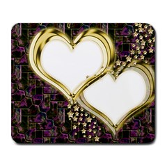 Lover Romantic Couple Apart Large Mousepads