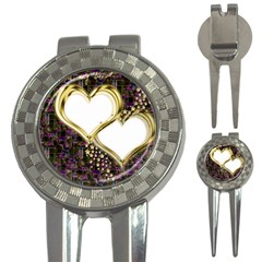 Lover Romantic Couple Apart 3 In 1 Golf Divots