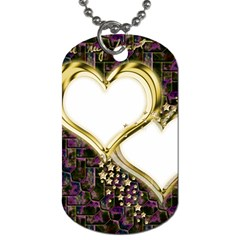 Lover Romantic Couple Apart Dog Tag (one Side)