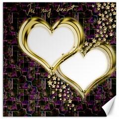 Lover Romantic Couple Apart Canvas 16  X 16   by Nexatart