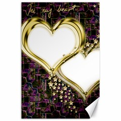 Lover Romantic Couple Apart Canvas 24  X 36  by Nexatart