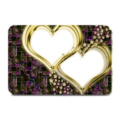 Lover Romantic Couple Apart Plate Mats by Nexatart