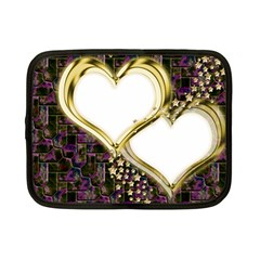 Lover Romantic Couple Apart Netbook Case (small)  by Nexatart