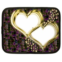 Lover Romantic Couple Apart Netbook Case (xl)