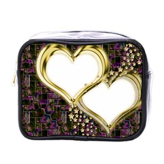 Lover Romantic Couple Apart Mini Toiletries Bags by Nexatart
