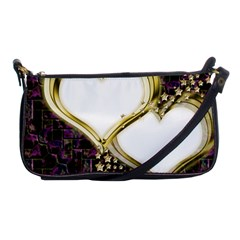 Lover Romantic Couple Apart Shoulder Clutch Bags by Nexatart