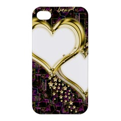 Lover Romantic Couple Apart Apple Iphone 4/4s Hardshell Case by Nexatart