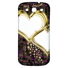 Lover Romantic Couple Apart Samsung Galaxy S3 S Iii Classic Hardshell Back Case