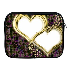 Lover Romantic Couple Apart Apple Ipad 2/3/4 Zipper Cases by Nexatart