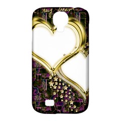 Lover Romantic Couple Apart Samsung Galaxy S4 Classic Hardshell Case (pc+silicone)