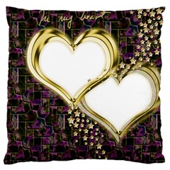 Lover Romantic Couple Apart Standard Flano Cushion Case (one Side)